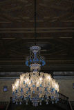 Chandelier in the Beylerbeyi Palace Stock Photo