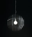 Chandelier on black background Royalty Free Stock Photo