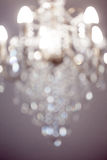 Chandelier bokeh background Royalty Free Stock Images