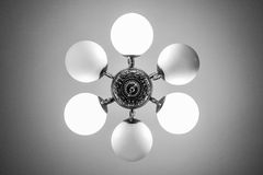 Chandelier Bottom View Detail Stock Image