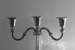 Chandelier candles Royalty Free Stock Images