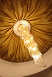 Chandelier on the ceiling Stock Image