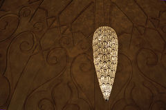 Chandelier on the ceiling Royalty Free Stock Images