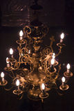 Chandelier in church Royalty Free Stock Image