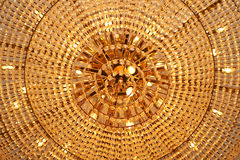 Chandelier close up Royalty Free Stock Photos