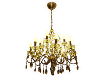 Chandelier Crystal Royalty Free Stock Images
