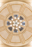 Chandelier in cupola Royalty Free Stock Photos