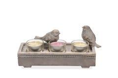 Chandelier décoratif avec des oiseaux Photo stock