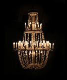 Chandelier on dark background Stock Photo