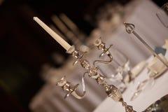 Chandelier de mariage Images libres de droits