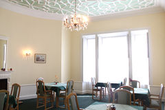 Chandelier Dining Room Royalty Free Stock Photo