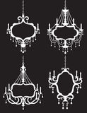 Chandelier Frame Set Royalty Free Stock Images