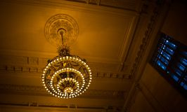 Chandelier grand central station Royalty Free Stock Photo