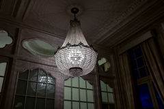 Chandelier in hallway Royalty Free Stock Photo