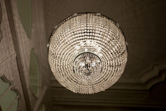 Chandelier in hallway Stock Photography