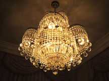 Chandelier lamp Stock Photography