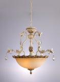 Chandelier lamp lighting Stock Image