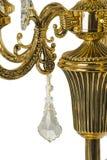 Chandelier light in interior, Chrystal chandelier close-up.crystal part from chandelier,chandelier, lighting, equipment, luxury, Royalty Free Stock Image