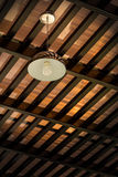 Chandelier or Light Lamp Hanging From Ceiling Royalty Free Stock Image