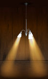 Chandelier light Stock Images