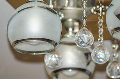 Chandelier, lighting fixtures for home Stock Photo