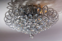 Chandelier made of glass Royalty Free Stock Photo