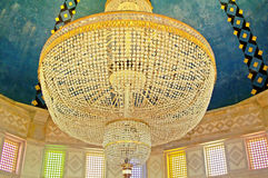 Chandelier in Mausoleum of Habib Bourgiba Royalty Free Stock Photo