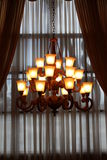 Chandelier. A picture of a chandelier royalty free stock photo