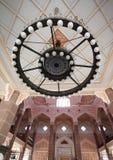Chandelier in Putrajaya Mosque Royalty Free Stock Photos