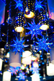 Chandelier with stars Royalty Free Stock Images