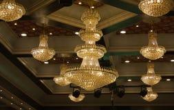 chandeliers Royalty-vrije Stock Foto's