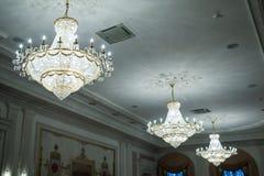 chandeliers Imagens de Stock