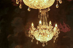 Chandeliers Stock Images