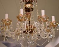 Chandeliers. Royalty Free Stock Photos