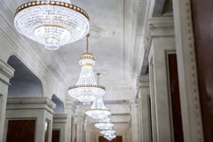 Chandeliers royalty free stock photo