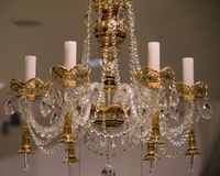 Chandeliers. Royalty Free Stock Photo