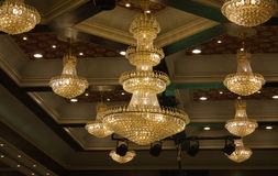 Chandeliers Royalty Free Stock Photos