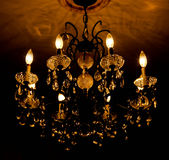 Chandeliers light Royalty Free Stock Images