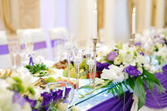 Chandeliers on Table Stock Photos