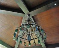 Chandellier extérieur coloré Image stock