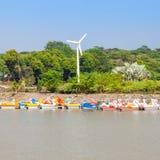 Sukhna Lake, Chandigarh Stock Images