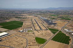 Chandler Airport. Chandler, Arizona Airport southeast of Phoenix Stock Images