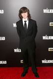 Chandler Riggs. NEW YORK-OCT 9: Actor Chandler Riggs attends AMC's 'The Walking Dead' season six premiere at Madison Square Garden on October 9, 2015 in New York Royalty Free Stock Image