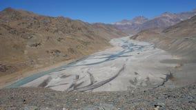 Chandra-Fluss Stockbild