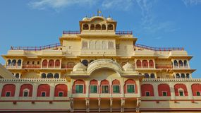 Chandra Mahal in City palace Royalty Free Stock Photos