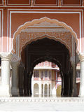 Chandra Mahal in City Palace, Jaipur, India. Royalty Free Stock Images