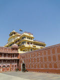 Chandra Mahal in City Palace, Jaipur, India. It   is now houses a museum Stock Photo