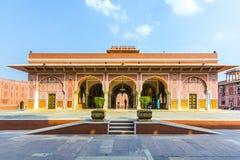 Chandra Mahal in City Palace, Jaipur, India. Stock Photography