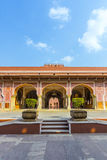 Chandra Mahal in City Palace, Jaipur, India. It was the seat of Stock Photos