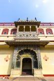 Chandra Mahal in City Palace, Jaipur, India Stock Photography